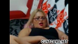 Watching My Dirty Mature Neighbor on Webcam - More at cuntcams.net