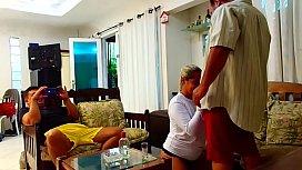 Corno Filma Esposa sendo surrada pelo Homen do Saco !!! Paty Bumbum - El Toro De Oro - Sandro Lima