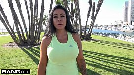 MILF Simone Garza'_s pussy is ready for a workout