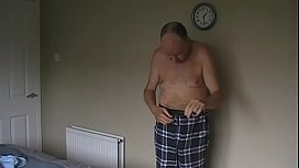 Jim Redgewell stripping again in September 2019