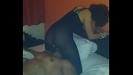 Petite Slut fucked by big black cock and pussy ate out