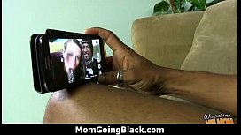 Huge Black Meat Going into Horny Mom 16