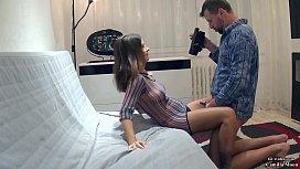 Sexy Camilla and Vira Gold shooting home porn