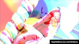 Busty Brit Sophie Dee Sucker Fucks Lesbian Sea J Raw!