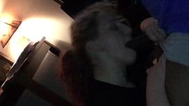 Redhead Teen Wife Gives Head