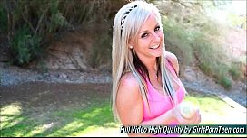 Melissa 4 sex blonde mature giant white radish outside