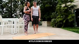 MYLF - Thick Mature Milf (Richelle Ryan) Has Hard Rough Sex With Her Stepson