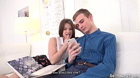 Sell Your GF - Leasing gf Evelina Darling to a soccer buddy
