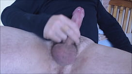 My solo 191 (Precumming horny hairy cock edged and spunked)
