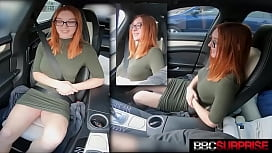Busty Cute Redhead Opal Gets Ass Packed By Big Black Cock & Loves it!