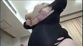 Giant Tits Vs Tiny Man