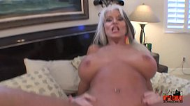 Young guy fills his Granny with hard cock cums twice  Sally D'_angelo  #Taboo #Milf #Kinky