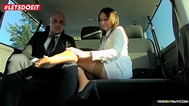 LETSDOEIT - Naughty Milf Seduces and Fucks Uber Driver