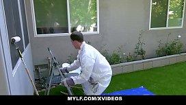 MYLF - Handyman Bones Misty Stone
