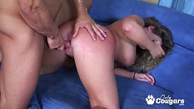Thick &amp_ Curvy MILF Vanessa Lee Rides Cock Doggystyle