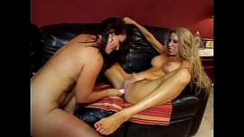 Porn bdsm lesbian strap on squirt