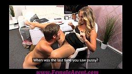 FemaleAgent MILF agent works up an appetite