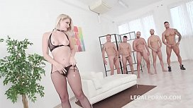 Monsters of TAP, Lisey Sweet gets 4on1 with Balls deep Anal &amp_ DAP, TAP, Dapes, Swallow GIO816