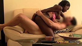 Secretly filming my African girlfriend
