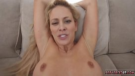 Mature pervert first time Cherie Deville in Impregnated By My
