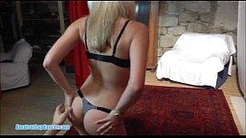 19yo czech blondie does wild stripshow for horny stranger