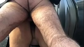 BBW Outdoor Upskirt and Doggy Fuck