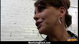 Mature Lady in Interracial Amateur Video 2