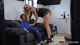 Bent over eurobabe gets her ass plowed