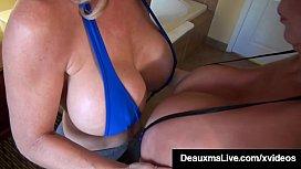 Hot Horny Milfs Deauxma &amp_ Minka Scissor Bang Their Pussies!