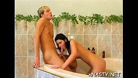 Ambitious blonde Daisy in enjoyable sex