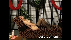 Hairy housewife on our casting couch