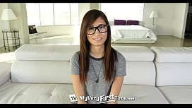 MyVeryFirstTime - New Uncensored Version- Kimberly Costa first anal