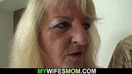 Hot m. in law in white lingerie taboo sex