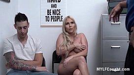 Blonde MILF Bends For Cops Cock After Stealing- Christie Stevens