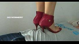 china feet