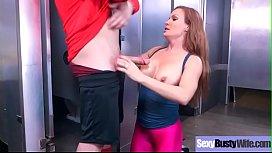 (Diamond Foxxx) Hot Big Tits Milf In Hard Bang Sex Scene clip-10