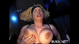 Wild girls are getting lusty shower of warm sperm
