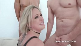BlackEned with Dee Williams Balls Deep Anal / DAP / Gapes / Facial / Creampie Swallow GIO938