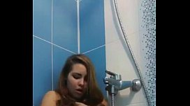 Young pussy shower orgasm Live on 69SexLive.com