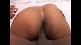 Busty MILF Tengie Sweet in her sexy lingerie gives blowy while masturbates