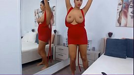 Busty MILF Plays with her Huge Natural Tits ▶ analbuzz.com