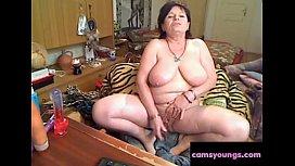 Nasty Year Old Granny Masturbating Porn