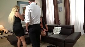 a threesome with two mothers with huge tits - THEMILF60.COM