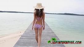 Skinny hot girlfriend with amazing beautiful tits