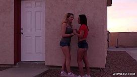 Secret Step Sister Sex Club - Abigail Mac, Amara Romani, April ONeil and Zoey Monroe