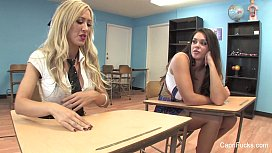 Capri Cavanni Threesome Behind The Scenes