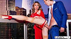 VIXEN Anya Olsen treats her man well
