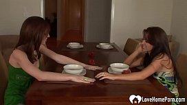 Horny lesbians enjoy some amazing sexual pleasures