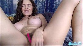 CamSoda - Krissy Lynn First Time Webcam Masturbation