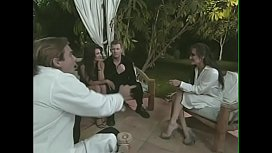 Sex expert Dr. Evan Stone recomends busty brunette lady Sydnee Steele to make love with athletically build dude  in front of eyes of doctor and his assistant